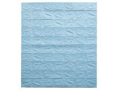 Декоративные панели для стен цвет (самоклейка)  3мм Бирюзовый