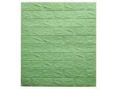 Декоративные панели для стен цвет (самоклейка)  3мм мятный