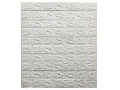 Декоративные панели для стен цвет (самоклейка)  3мм белый
