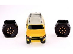 Подарочный набор мини 33 wishes Toyota FJ Cruiser, 3 предмета 300 мл (KE103)