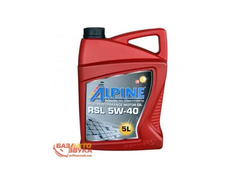 aa072772a26 Моторное масло Alpine RSL 5W-40 5л купить недорого за 735 грн. на ...