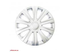 Комплект колпаков Star Майбах 15 белый Карбон