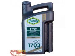 Моторное масло YACCO VX 1703 FAP 5W-30 5л