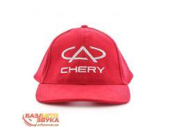 Бейсболка EX Chery красная