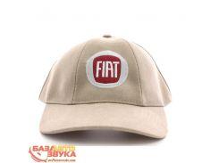 Бейсболка EX Fiat бежевая