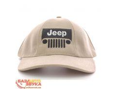 Бейсболка EX Jeep бежевая