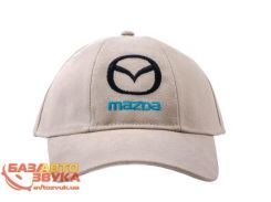 Бейсболка Cofee Mazda бежевая