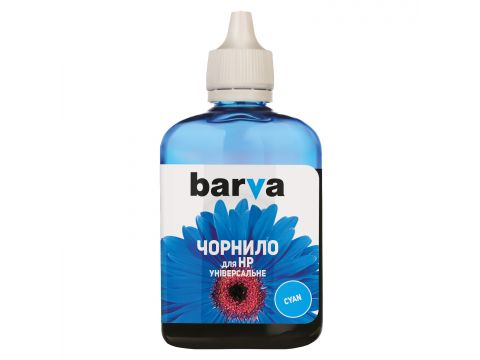 Чорнило BARVA HU3-365 HP Універсальні №3 блакитне