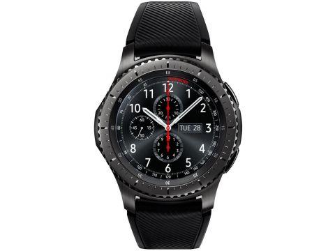 Смарт годинник Samsung SM-R760 Gear S3 Frontier Dark Grey  (SM-R760NDAASEK) Ровно