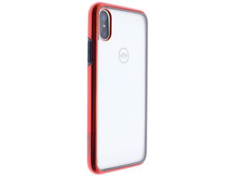 Чохол JoyRoom for iPhone X - Pairy series Case PC TPU EDGE Red Ровно