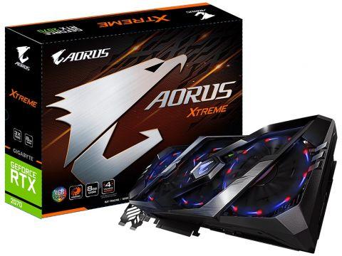 Відеокарта Gigabyte RTX 2070 Xtreme Aorus (GV-N2070AORUS X-8GC) Ровно