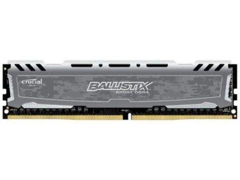 Оперативна пам'ять  Micron Crucial Ballistix Sport LT Grey DDR4 1x8GB BLS8G4D26BFSBK Ровно