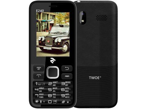 Мобільний телефон 2E E240 Black Ровно
