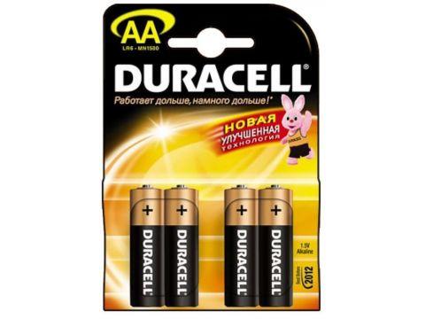 Батарейка Duracell MN1500 4 шт. Ровно