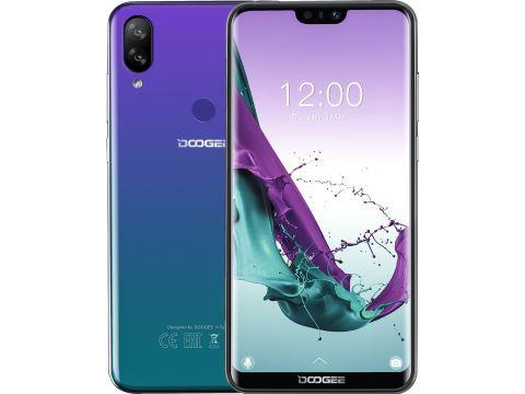 Смартфон Doogee Y7 3/32GB Aurora Blue  (Y7 Aurora Blue) Ровно