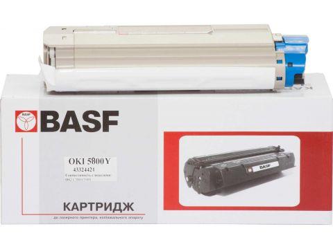 Картридж BASF for OKI C5800/5900 аналог 43324421 Yellow Ровно