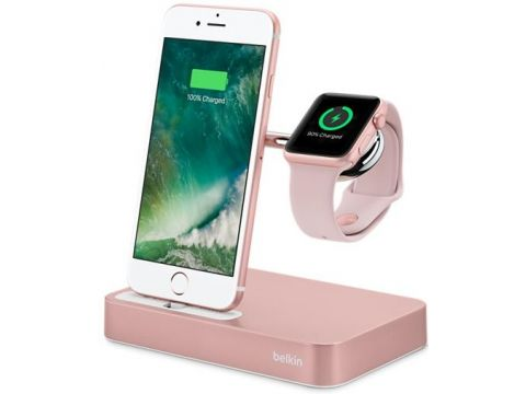 Док-станція Charge Dock iWatch and Iphone RoseGold Ровно