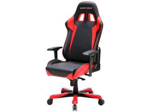 Крісло DXRACER King OH/KS00/NR Black/Red Ровно