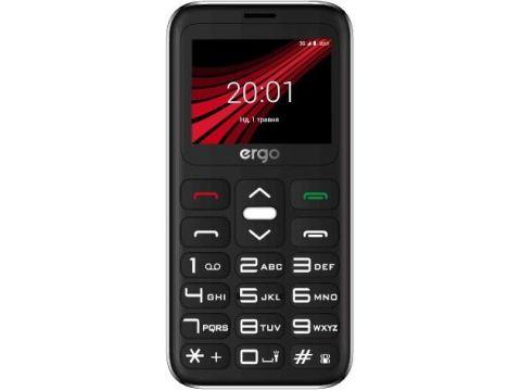 Мобільний телефон ERGO F186 Solace silver  (F186 Solacel silver) Ровно