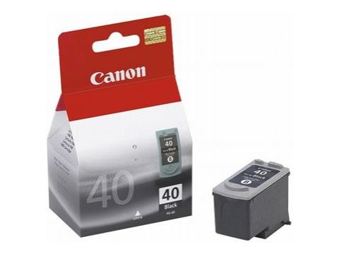 Картридж Canon PG-40Bk iP1600, 1700, 1800, MP150, 170, 450 Black Ровно