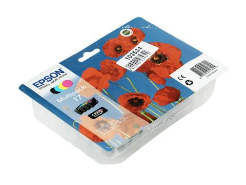 Набір картриджів Epson C13T17064A10 Epson 17 XP103, 203, 207 кольоровий Ровно