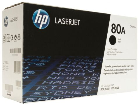 Картридж HP CF280A HP LJ  M425dn, M425dw, M401a, M401d Black Ровно