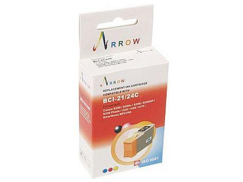 Картридж Arrow Canon S100/S200/BCI-21/BCI-24 кольоровий Ровно