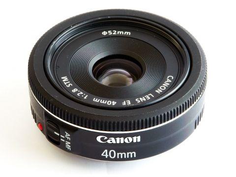 Об'єктив Canon EF 40mm f/2.8 STM Ровно