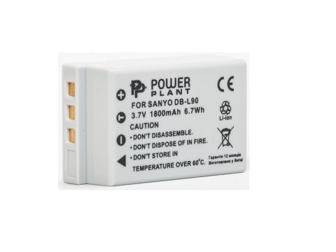 Aкумулятор PowerPlant Sanyo DB-L90 Ровно