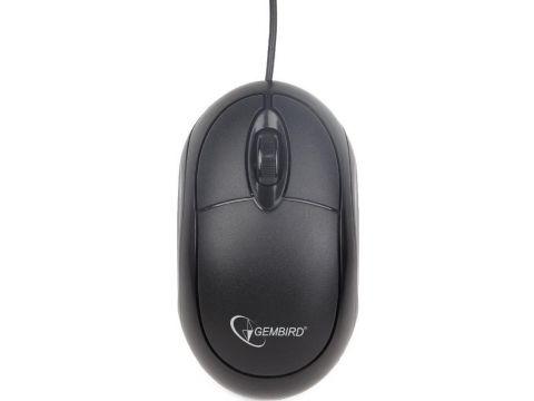 Мишка Gembird MUS-U-01 Black Ровно