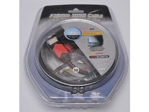 Кабель ATcom HDMI / HDMI 3м Ровно