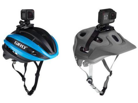 Кріплення GoPro на вентильований шолом (ремінець)