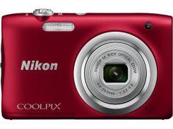 Цифрова фотокамера Nikon Coolpix A100 Red