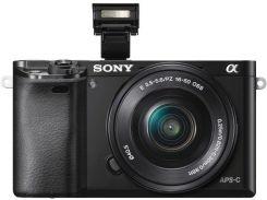Цифрова фотокамера Sony Alpha 6000 kit 16-50 мм Black