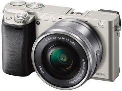 Цифрова фотокамера SONY Alpha 6000 kit 16-50 мм Silver