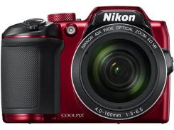 Цифрова фотокамера Nikon Coolpix B500 Red
