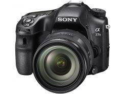 Цифрова фотокамера дзеркальна Sony Alpha 77M2 kit 16-50 мм Black