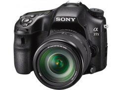Цифрова фотокамера дзеркальна Sony Alpha 77M2 kit 18-135 мм Black