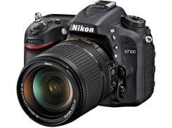 Цифрова фотокамера дзеркальна Nikon D7100 kit AF-S DX 18-140 мм VR