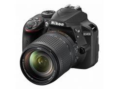 Цифрова фотокамера дзеркальна Nikon D3400 kit 18-140 мм VR