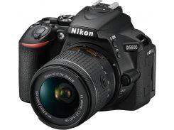 Цифрова фотокамера дзеркальна Nikon D5600 kit 18-55 мм VR AF-P