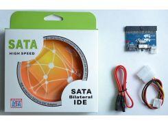 Контролер ATCom IDE / SATA + SATA / IDE (перехідник)