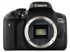 Цифрова фотокамера дзеркальна Canon EOS 750D Body