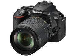 Цифрова фотокамера дзеркальна Nikon D5600 kit 18-105мм VR AF-S