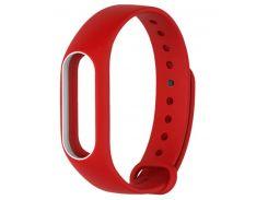 Ремінець для фітнес браслету Xiaomi Mi Band 2 Red