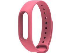 Ремінець для фітнес браслету Xiaomi Mi Band 2 Pink