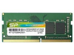 Пам'ять для ноутбука Silicon Power DDR4 1x4 ГБ (SP004GBSFU213N02)
