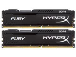 Пам'ять Kingston HyperX Fury Black DDR4 2x16 ГБ (HX424C15FBK2/32)