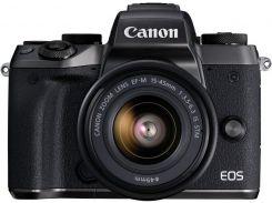 Цифрова фотокамера Canon EOS M5 Kit 15-45 мм IS STM Black