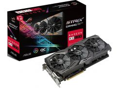 Відеокарта ASUS RX 580 ROG Strix OC (STRIX-RX580-O8G-GAMING)
